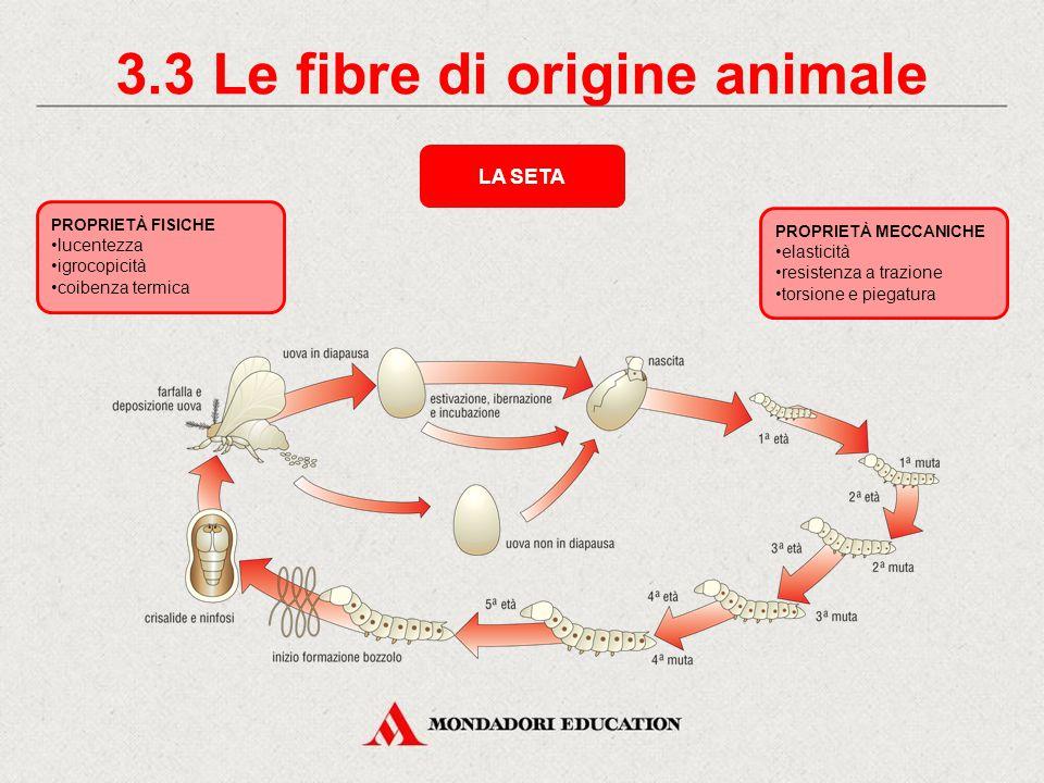 3.2 La produzione della lana TOSATURA LAVAGGIO ASCIUGATURA TRASFERIMENTO ALL'INDUSTRIA TESSILE PER LA FILATURA LANOLINA La tosatura