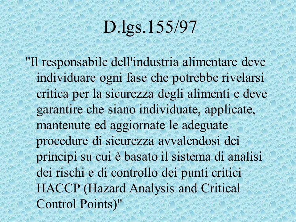 D.lgs.155/97