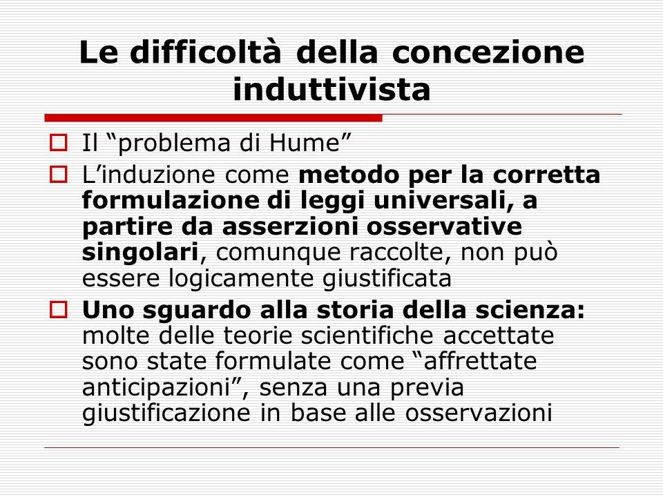 Contesto della scoperta e contesto della giustificazione (1)  All interno del positivismo logico viennese, si elaborò la distinzione tra procedimenti della scoperta e procedimenti della giustificazione .