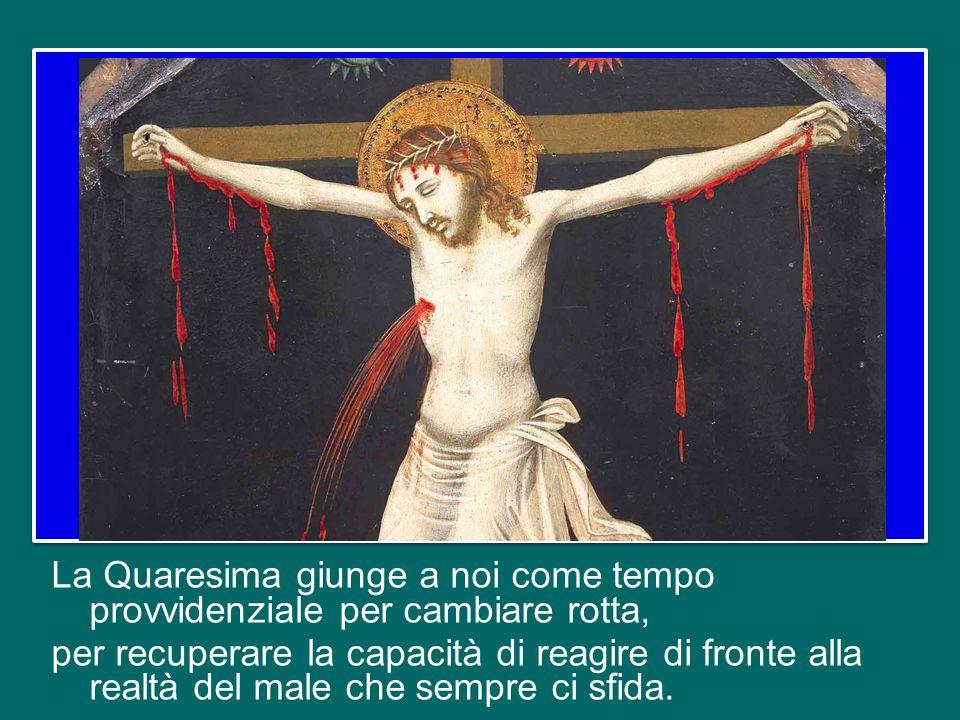 Io vi domando: i vostri figli, i vostri bambini sanno farsi il segno della croce.