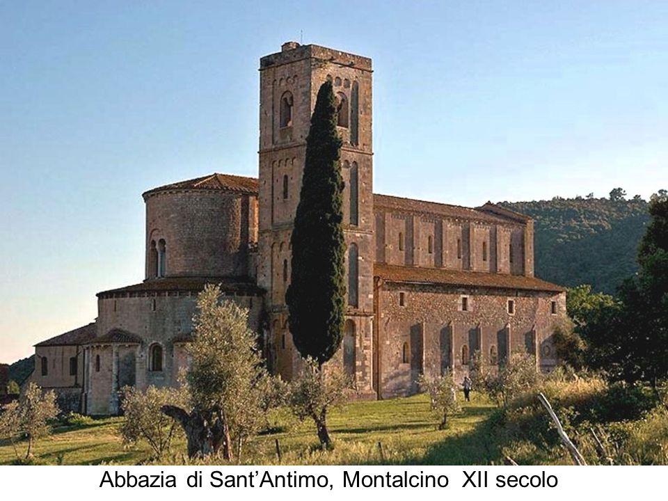 Abbazia di Sant'Antimo, Montalcino XII secolo
