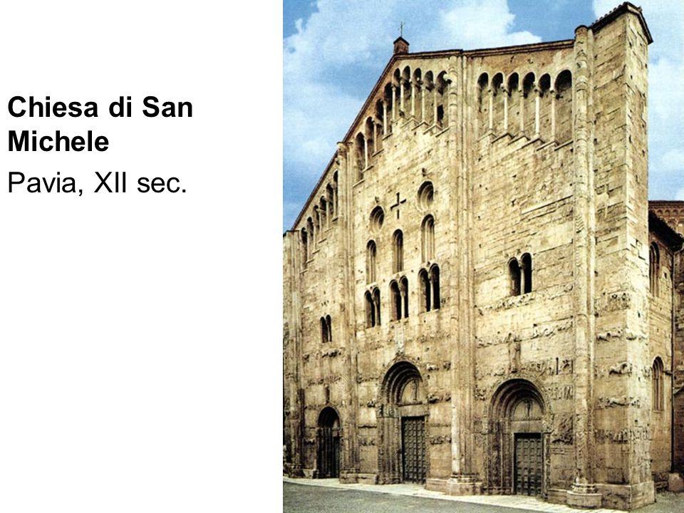 Chiesa di San Michele Pavia, XII sec.
