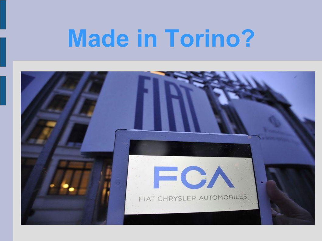 Made in Torino?
