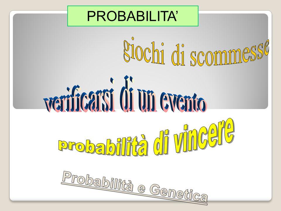 Un evento casuale A è dipendente da un altro evento B se la probabilità dell evento A dipende dal fatto che l evento B si sia verificato o meno.