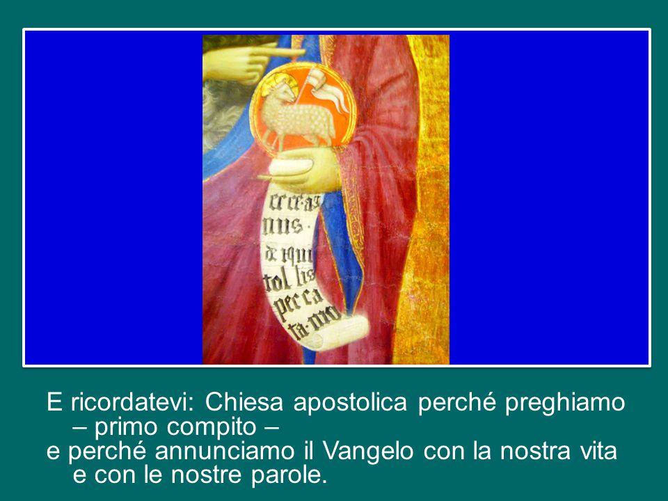 Una Chiesa che si chiude in se stessa e nel passato, una Chiesa che guarda soltanto le piccole regole di abitudini, di atteggiamenti, è una Chiesa che