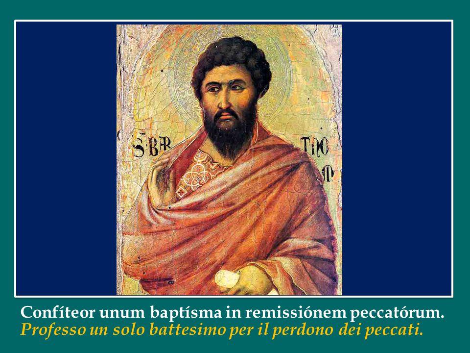 Et unam, sanctam, cathólicam et apostólicam Ecclésiam. Credo la Chiesa: una, santa, cattolica e apostolica