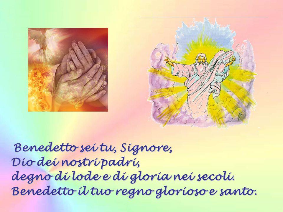 Gloria al Padre, al Figlio e allo Spirito Santo come era nel principio, ora e sempre, nei secoli dei secoli. Amen