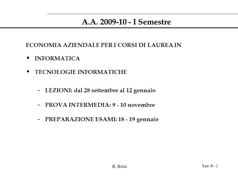 R. Boni Lez. 0 - 2 A.A.