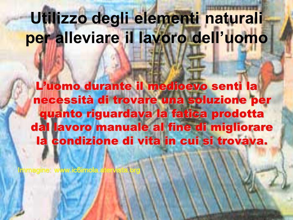 Questa soluzione fu trovata nello sfruttamento delle forze naturali come l'acqua, il vento e gli animali.
