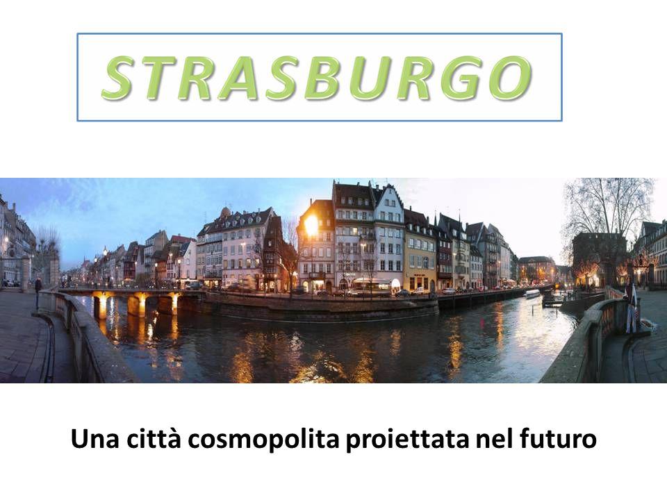 Una città cosmopolita proiettata nel futuro