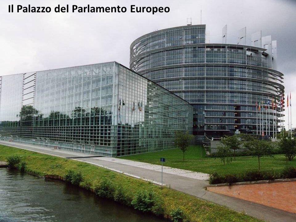 Il Palazzo del Parlamento Europeo