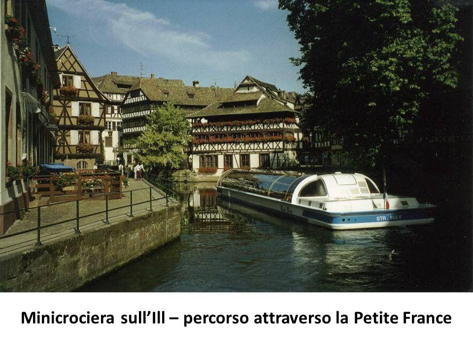 Minicrociera sull'Ill – percorso attraverso la Petite France