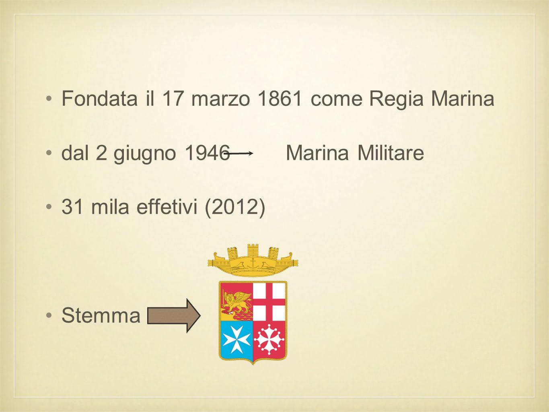 Fa parte delle 4 forze armate della Repubblica italiana insieme all' 1.