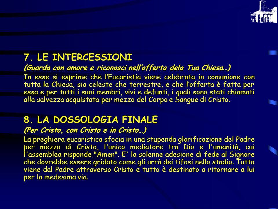 5.L'ANAMNESI (Mistero della fede.