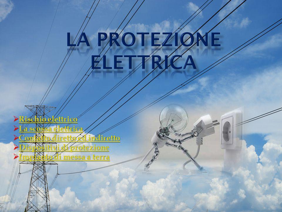  Rischio elettrico Rischio elettricoRischio elettrico  La scossa elettrica La scossa elettricaLa scossa elettrica  Contatto diretto ed indiretto Co