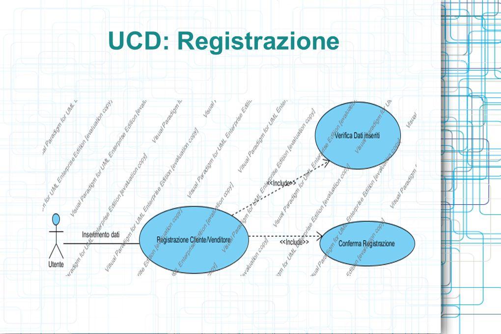 UCD: Registrazione