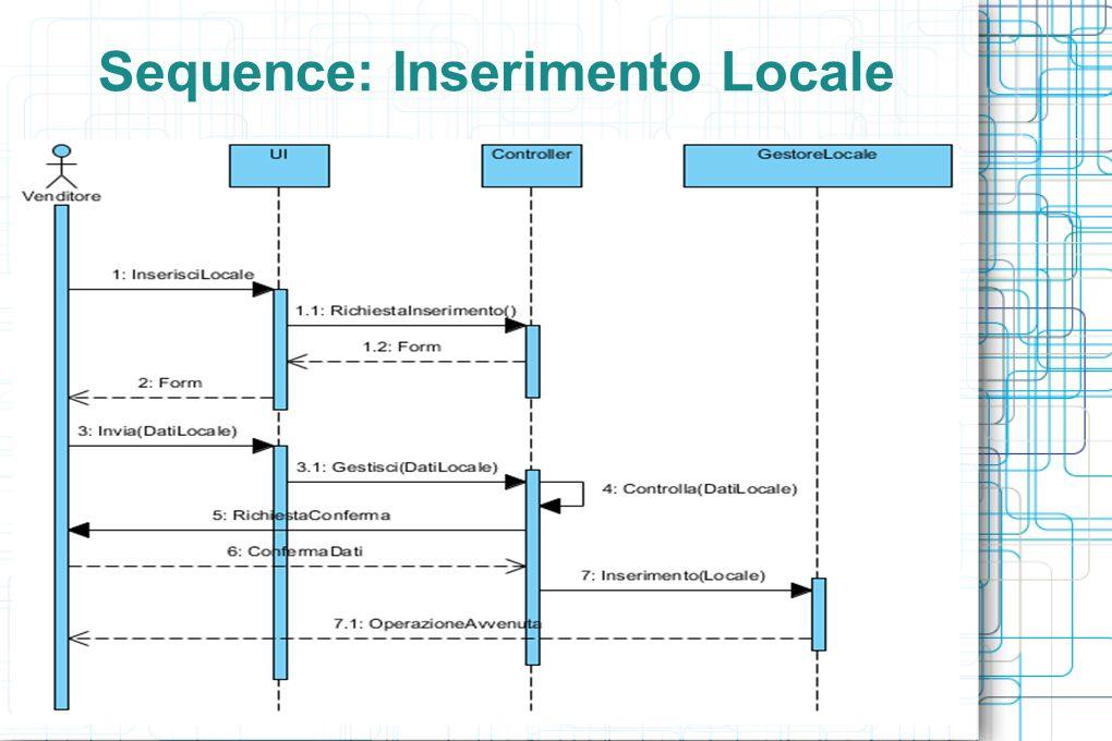 Sequence: Inserimento Locale