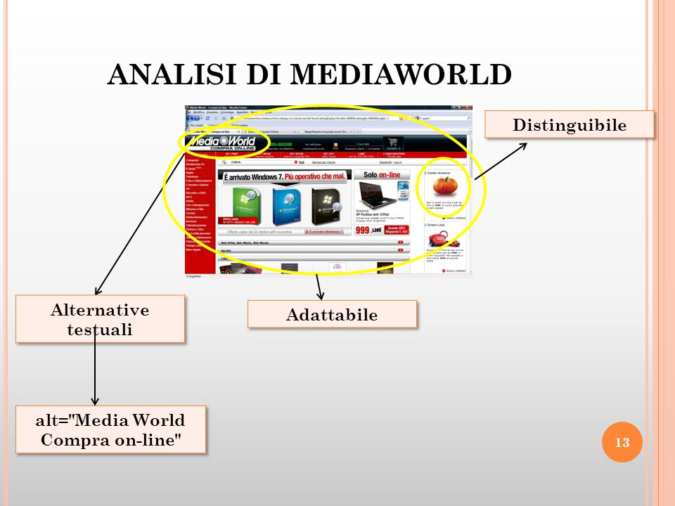 ANALISI DI MEDIAWORLD 13