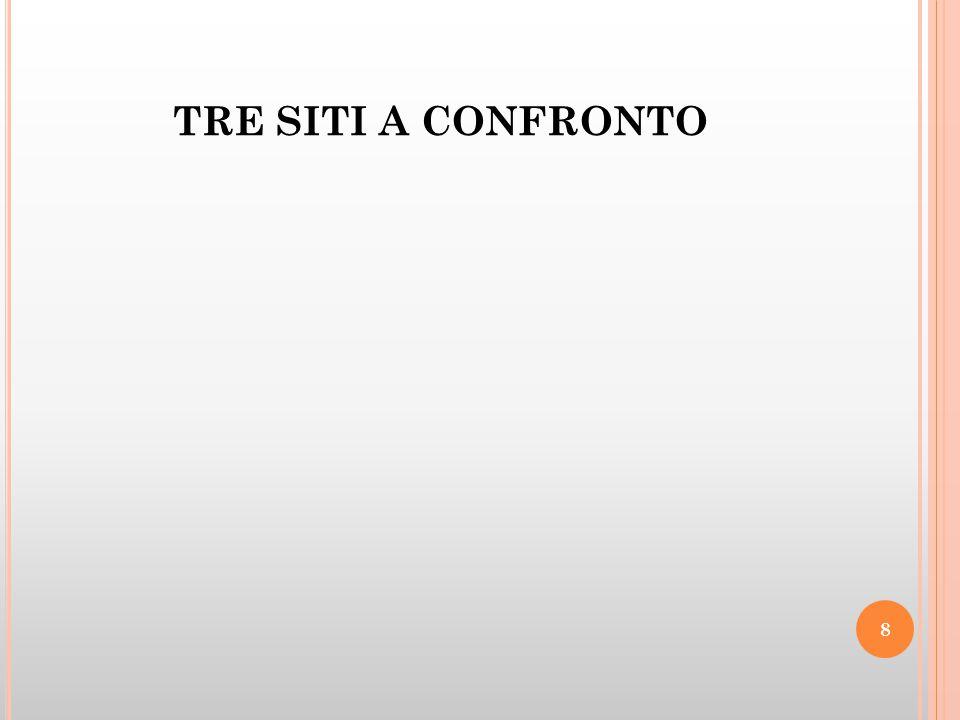 TRE SITI A CONFRONTO 8