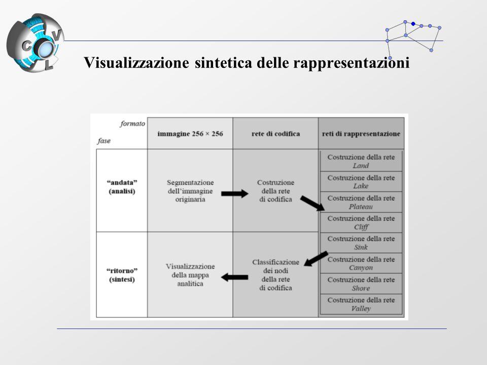 Visualizzazione sintetica delle rappresentazioni