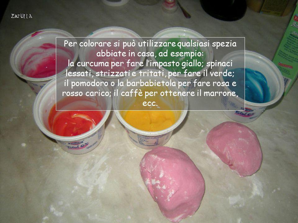 Ecco qui il panetto rosa pronto per l'uso ma, naturalmente, è solo un esempio: si può usare qualsiasi colore alimentare.