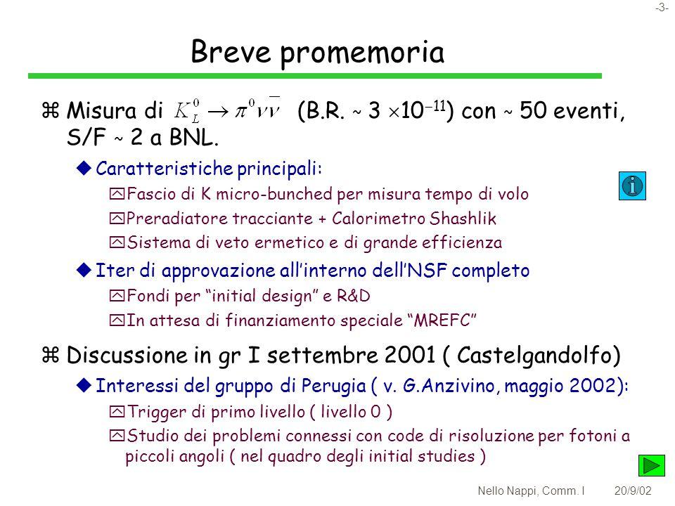 -3- Nello Nappi, Comm. I20/9/02 Breve promemoria zMisura di (B.R.