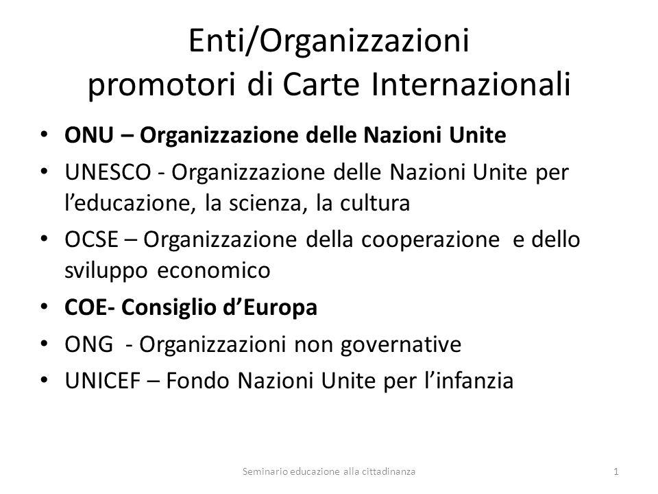 Convenzione Internazionale sui diritti dei minori- 1989 Chi sono le persone di minore età.