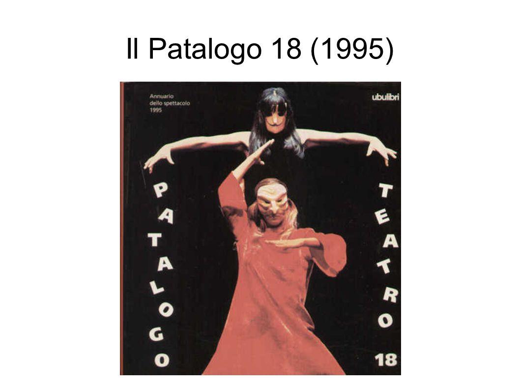 Il Patalogo 18 (1995)