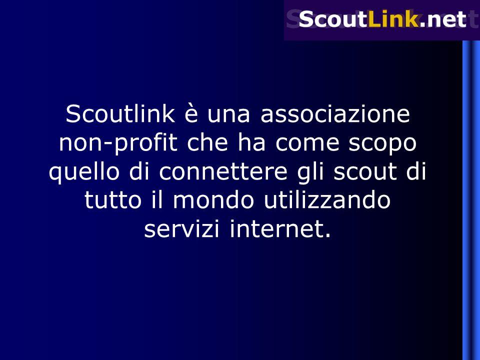 Scoutlink è una associazione non-profit che ha come scopo quello di connettere gli scout di tutto il mondo utilizzando servizi internet.