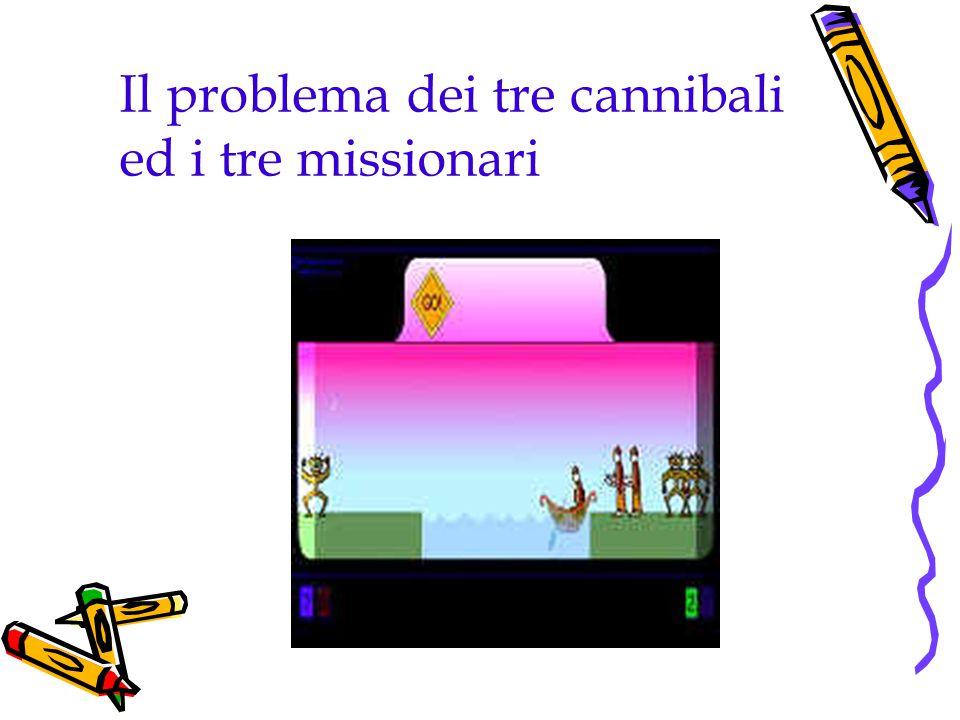 Il problema dei tre cannibali ed i tre missionari