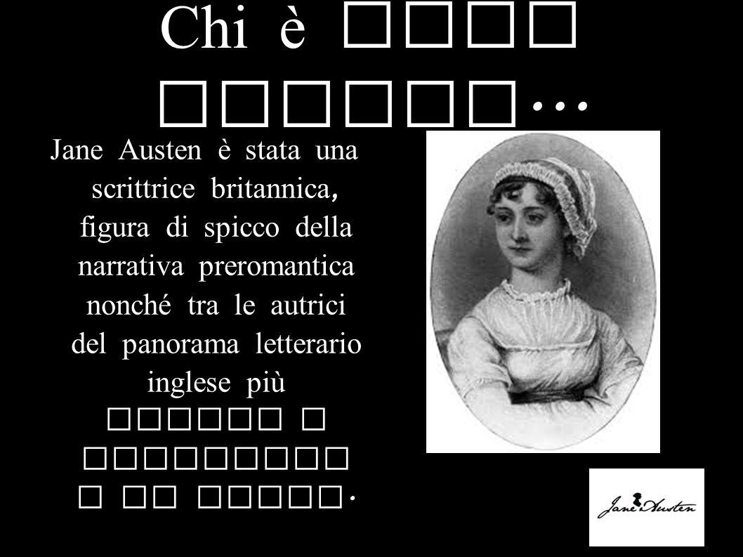 Chi è Jane Austen...