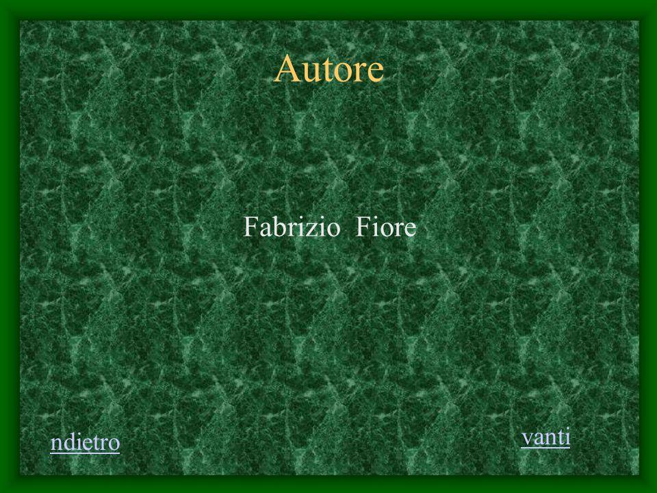 Autore Fabrizio Fiore vanti ndietro