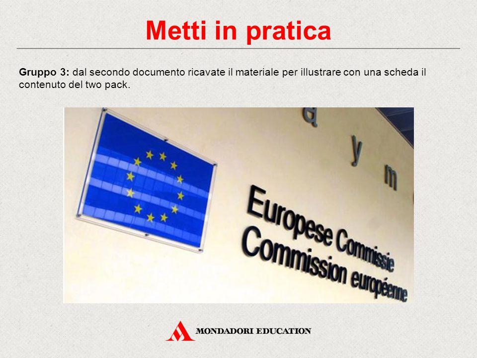 Metti in pratica Gruppo 4: dal terzo documento estraete le due tabelle che descrivono i valori di finanza pubblica a legislazione vigente e quelli programmatici.
