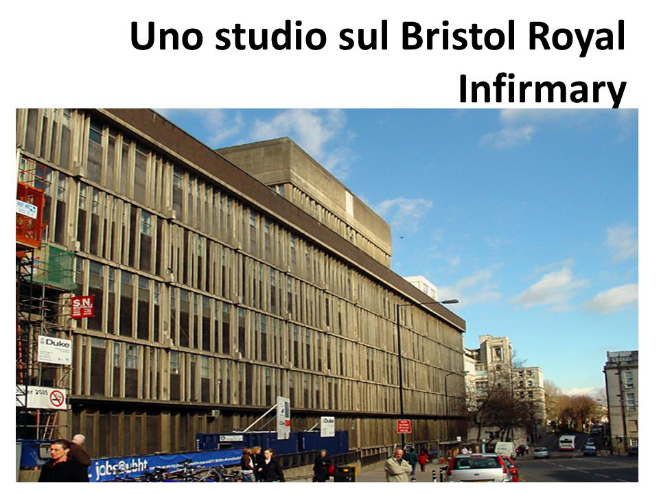 Uno studio sul Bristol Royal Infirmary