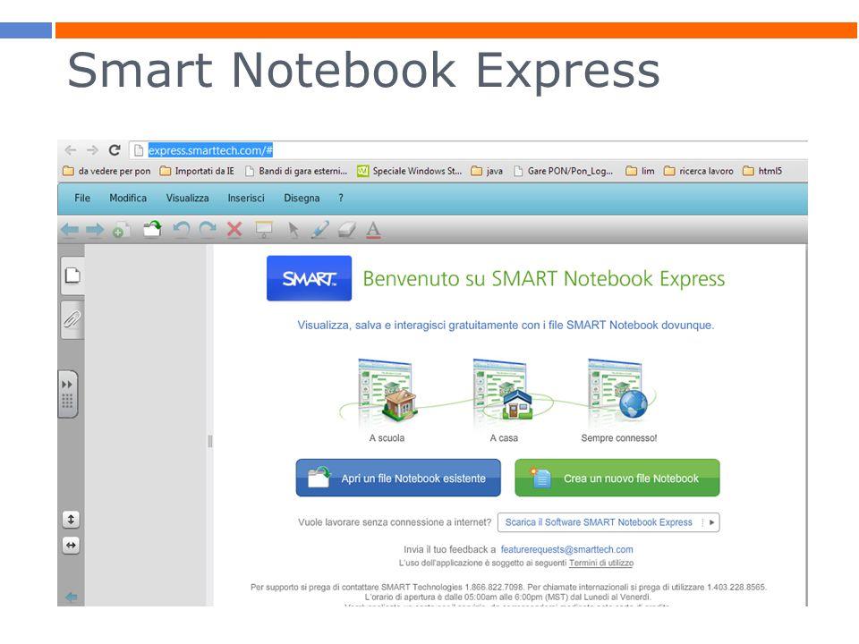 Smart Notebook Express