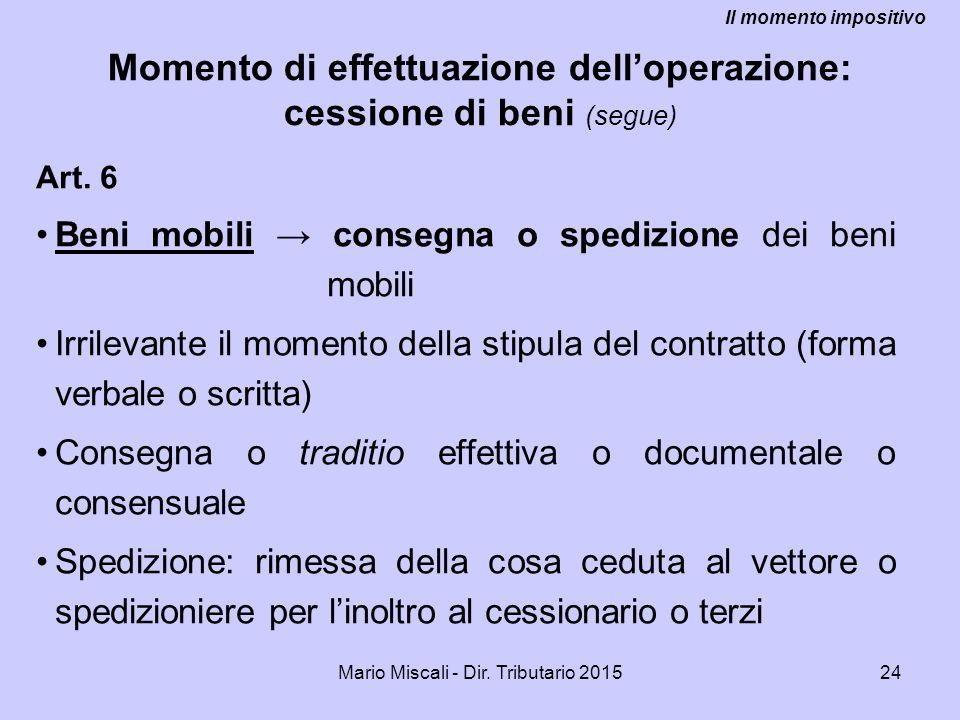 Mario Miscali - Dir.Tributario 201524 Art.