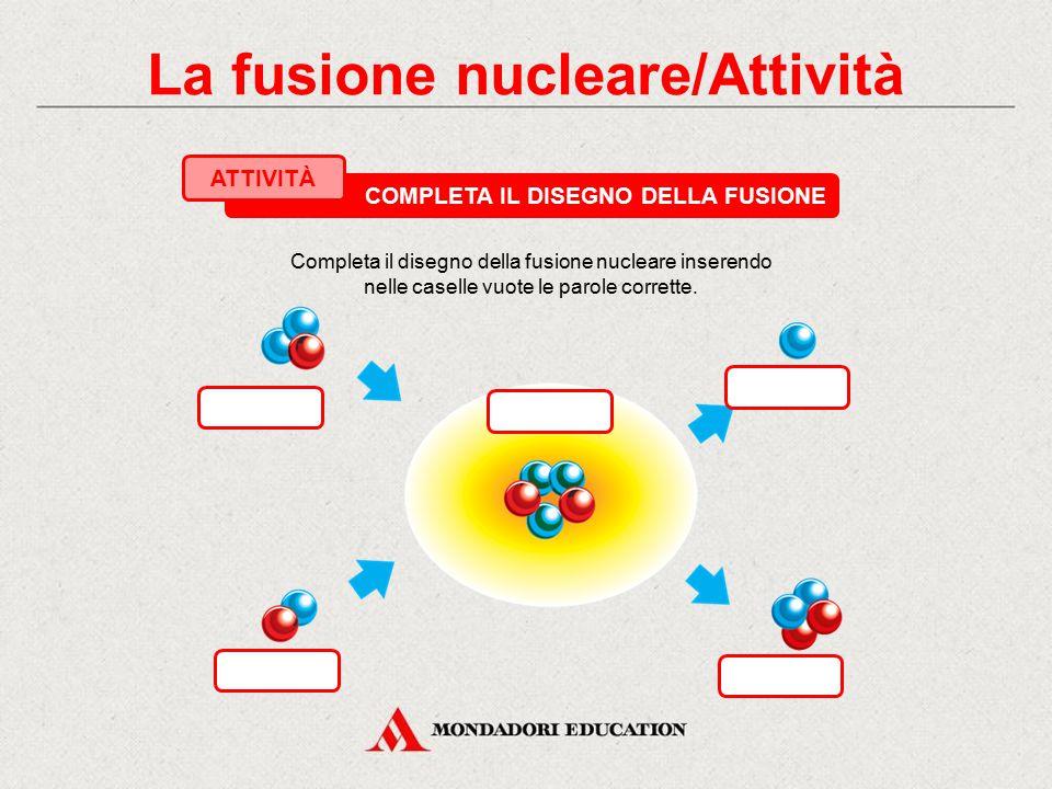 3. La fusione nucleare