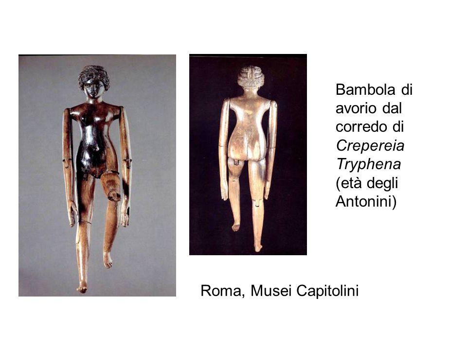 Bambola di avorio dal corredo di Crepereia Tryphena (età degli Antonini) Roma, Musei Capitolini