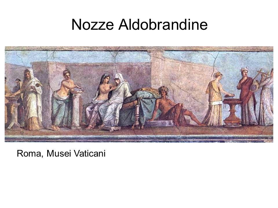 Nozze Aldobrandine Roma, Musei Vaticani