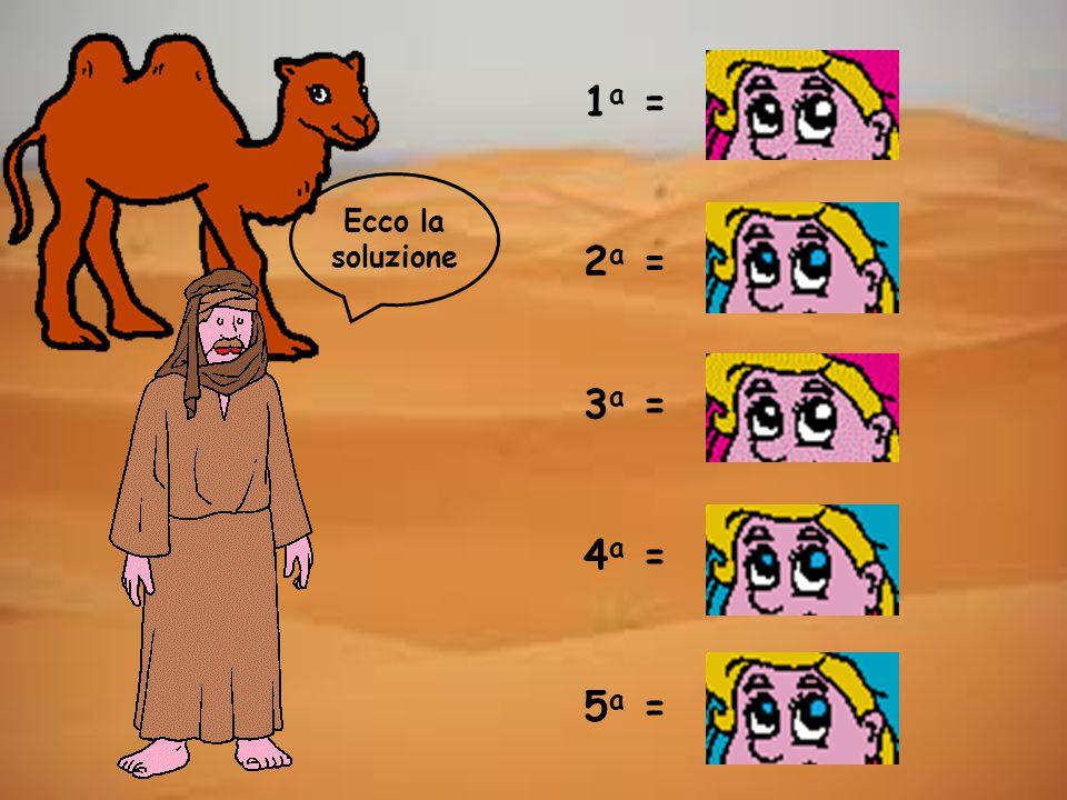 Ecco la soluzione 1 a = 2 a = 3 a = 4 a = 5 a =