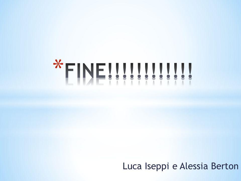 Luca Iseppi e Alessia Berton