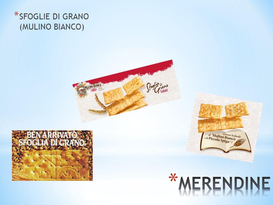 * SFOGLIE DI GRANO (MULINO BIANCO)