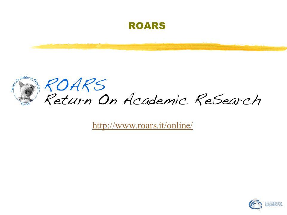 ROARS http://www.roars.it/online/