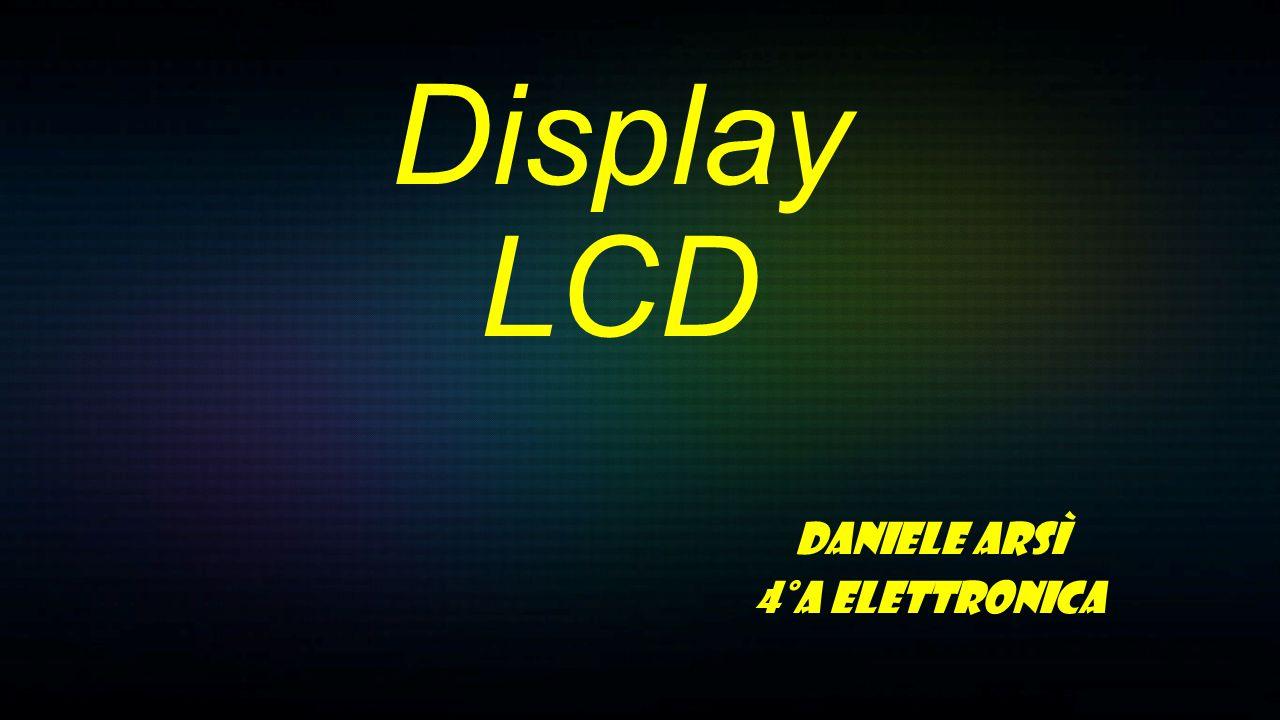 Gli LCD (Liquid Crystal Display) sono una tecnologia di tipo trasmissivo, a valvola di luce: la luce bianca viene filtrata ottenendo la scala dei grigi.
