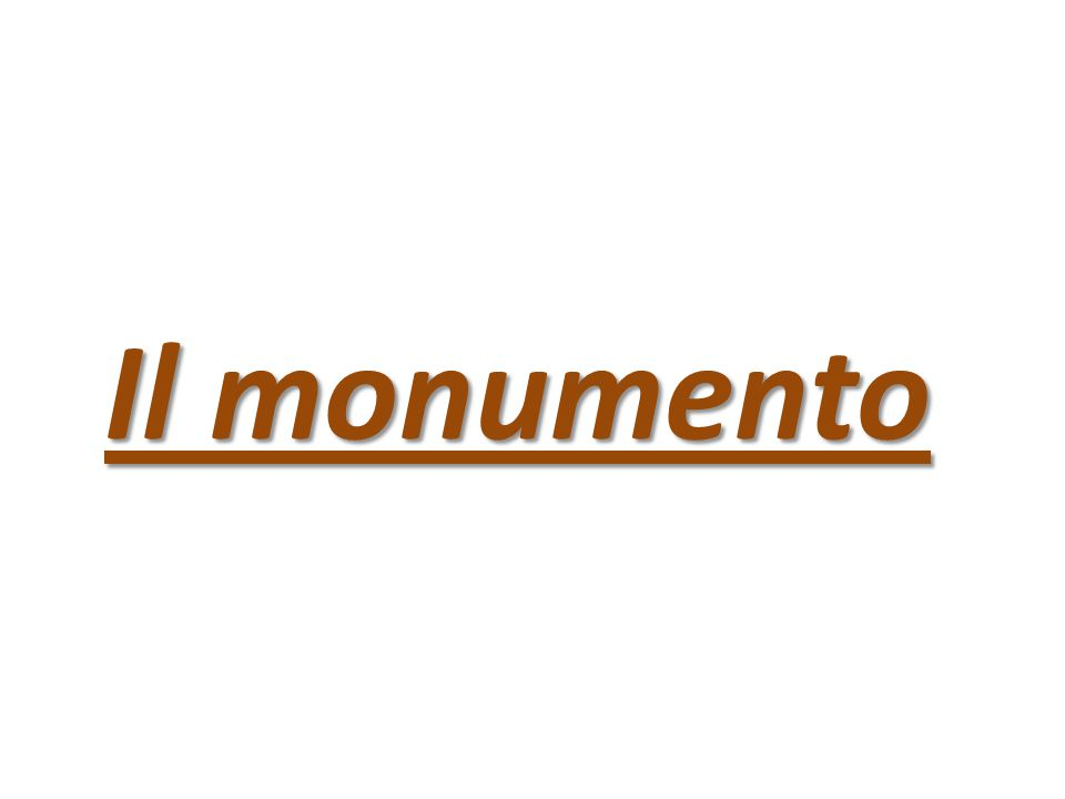 Il monumento