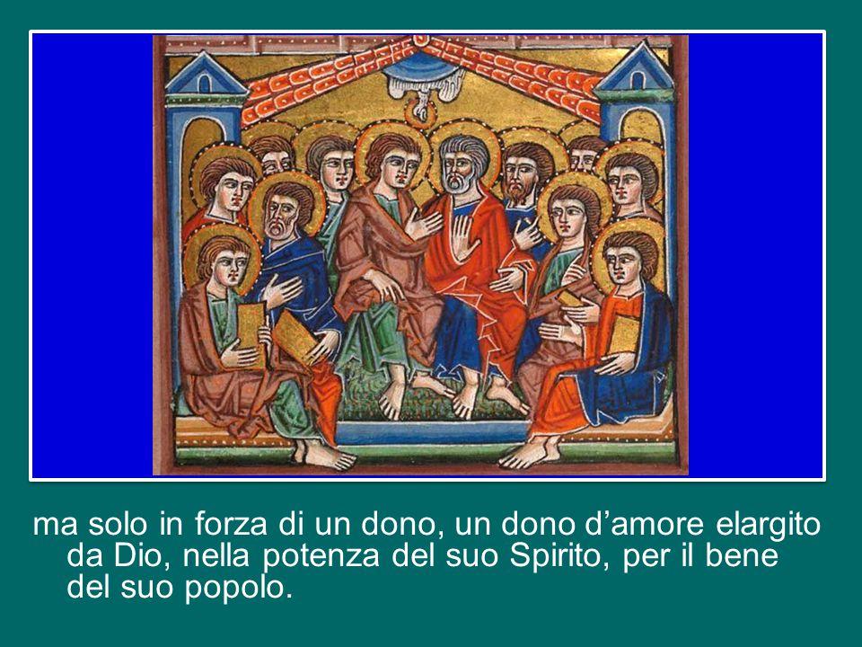 Questo significa che deve essere sempre viva la consapevolezza che non si è vescovi, sacerdoti o diaconi perché si è più intelligenti, più bravi e migliori degli altri,