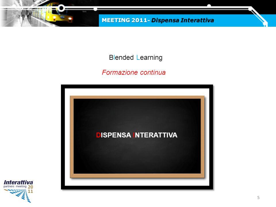 66 MEETING 2011- Dispensa Interattiva