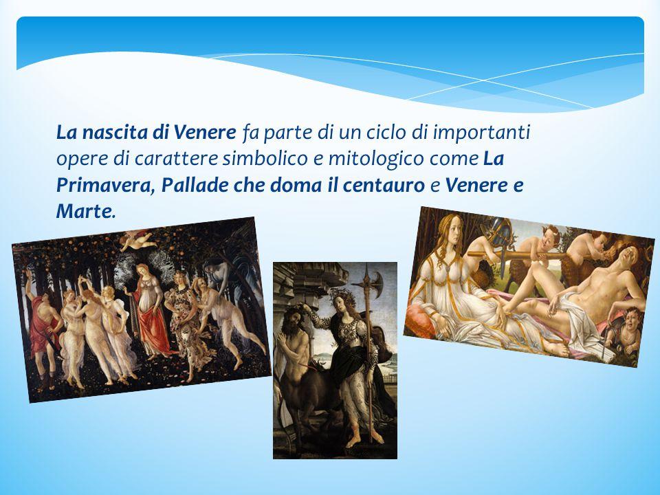 Mi metto alla prova 1)Disegna sul tuo quaderno La nascita di Venere.