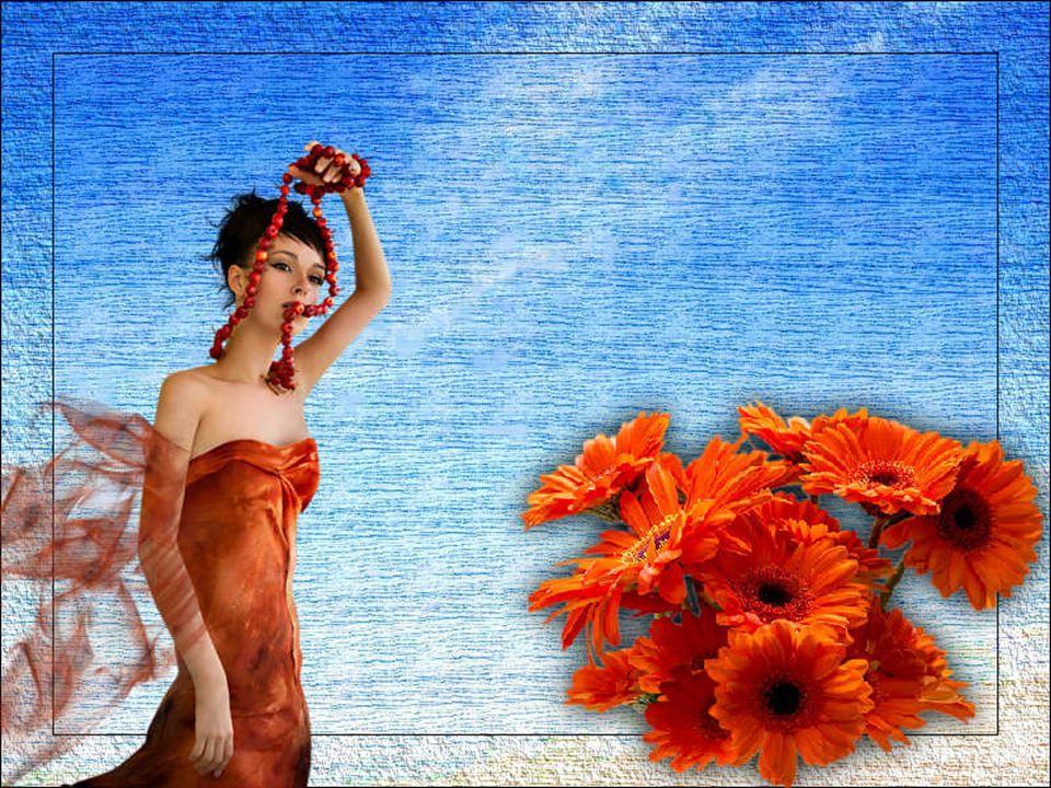ma a me doleva ultimo sorriso di fresca donna riversa in mezzo ai fiori.