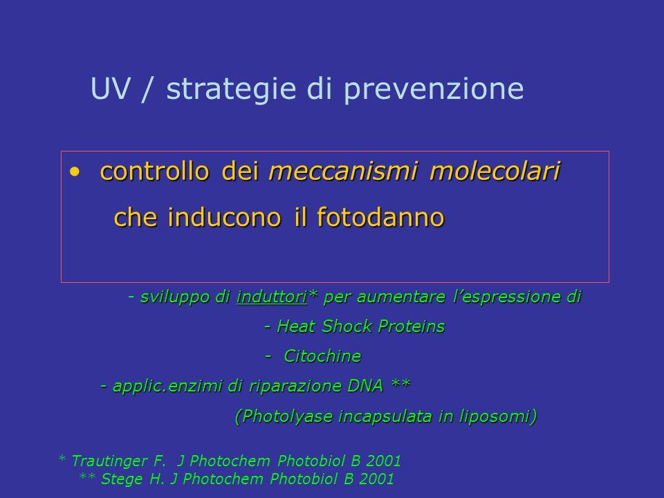 sviluppo di induttori* per aumentare l'espressione di - sviluppo di induttori* per aumentare l'espressione di - Heat Shock Proteins - Citochine - Cito